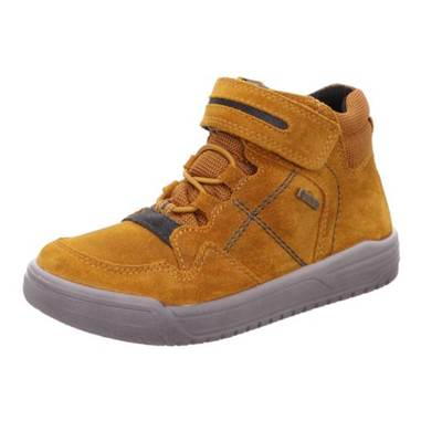 Basket Superfit cuir daim jaune Goretex